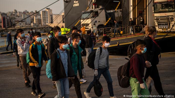 Unbegleitete minderjährige Flüchtlinge in Griechenland