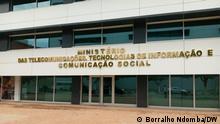 Fassade des Ministeriums für Telekommunikation