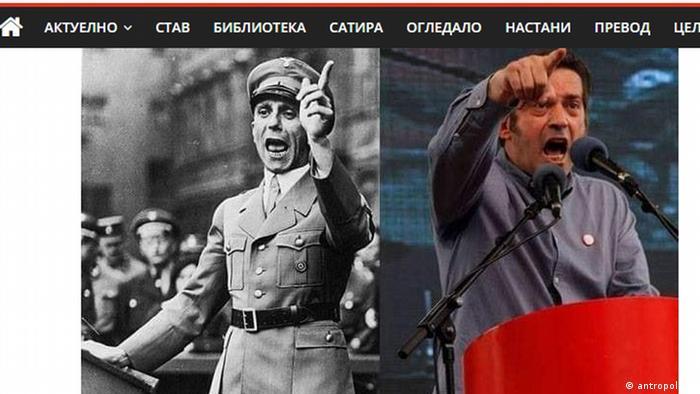 Menschenrechtsaktivist Abirre Deralla Goebbels-Vergleiche