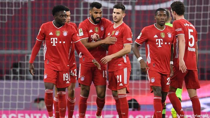Fußball: Bundesliga Bayern München - Bayer Leverkusen Tor: (1:0)