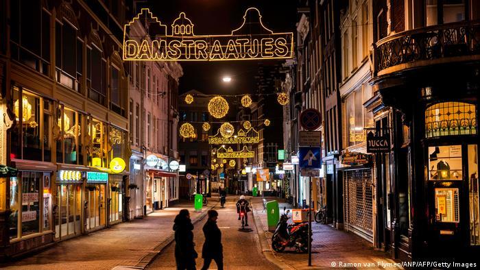 Symbolbild Coronavirus und Lockdown in den Niederlanden