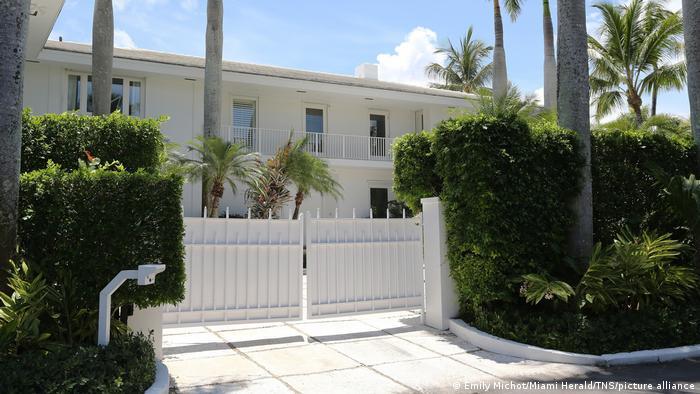 USA Haus von Jeffrey Epstein in Palm Beach