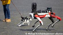Weltspiegel 21.04.2021 | Deutschland Roboterhund Spot Roboter AI künstliche Intelligenz