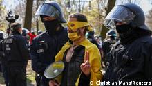 Deutschland Proteste gegen Corona-Auflagen in Berlin
