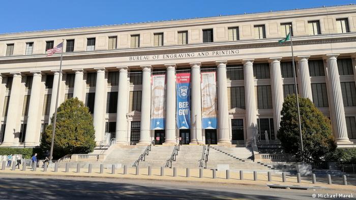 Gebäude der US-Bundesdruckerei in Washington