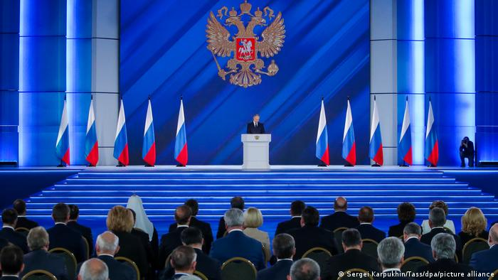 21 април 2021, годишната реч на Владимир Путин пред Федералното събрание