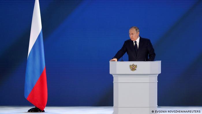 Послание президента РФ Владимира Путина Федеральному собранию, 21 апреля 2021 года