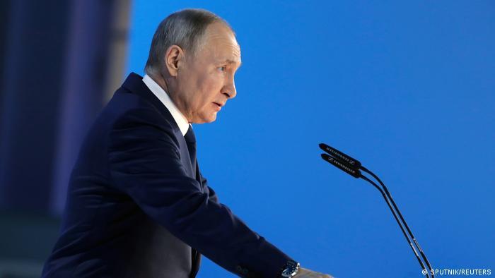 Президент России Владимир Путин, 21 апреля 2021 года