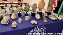 USA Washington DC | Übergabe afghanische Antiquitäten an Botschaft Afghanistan