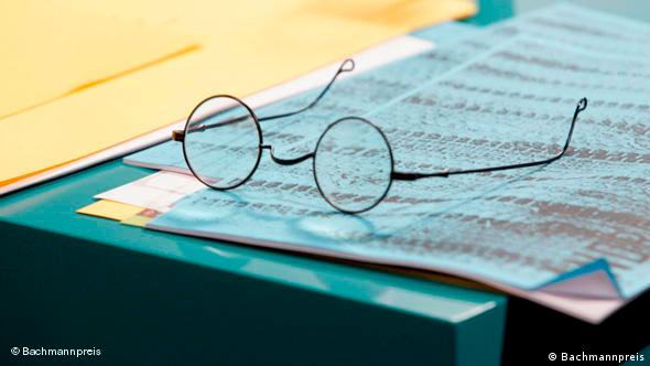 Glasses and manuscript