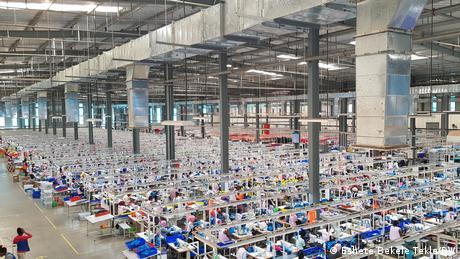 Äthiopien Der Industriepark Adama