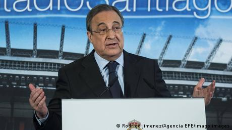 فلورينتينو بيريز، رئيس نادي ريال مدريد