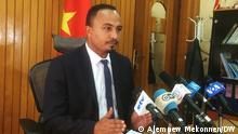 Äthiopien Gizachew Muluneh, Leiter des Büros für Kommunikationsangelegenheiten der Amhara-Region