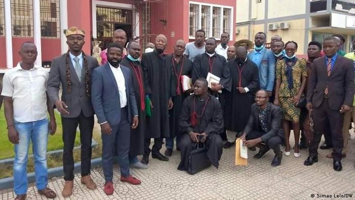 Angola UCI-Aktivisten vor Gericht in Cabinda