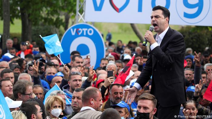 Albanien Wahlkampf | Lulzim Basha