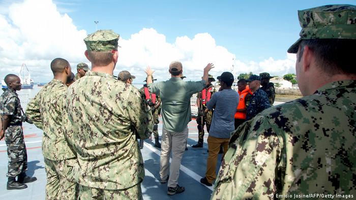 USA Mosambik Militärübungen der US Marine vor Mosambik
