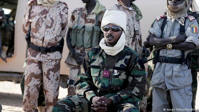 Le général Mahamat Idriss Déby, chef du CMT
