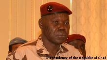 ***ACHTUNG: Bild nur zur mit den Rechteinhabern abgesprochenen Berichterstattung verwenden!*** via Eric Topona General Djimadoum Tiraina, Vizepräsident des Übergangs-Militärrats im Tschad. Rechte: Presidency of the Republic of Chad
