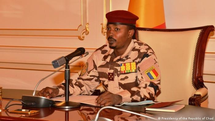 Tschad General Mahamat Idriss Déby