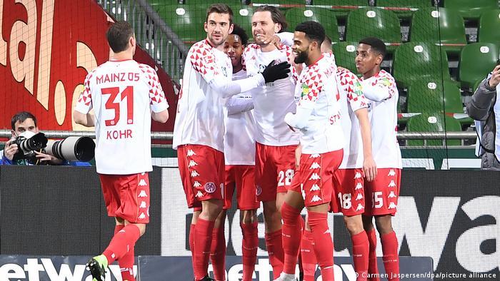 Fussball Bundesliga Werder Bremen - FSV Mainz 05