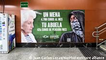 Spanien Poster VOX Partei