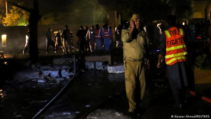 Pakistan, Quetta I Explosion in Luxushotel
