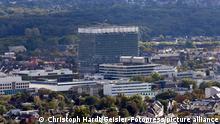Das Bettenhaus der Uniklinik Köln. (Themenbild, Symbolbild) Köln, 09.09.2020