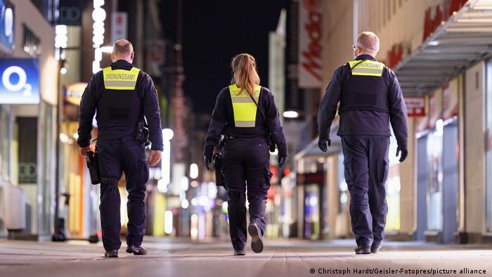 Dupa ora 21:00, pe strazile din Köln