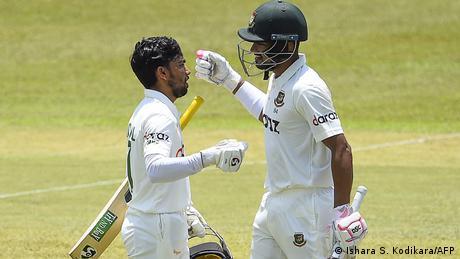 Cricket l Sri Lanka vs Bangladesch - Shanto und Haque