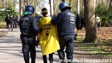 Weltspiegel 22.04.2021 | Berlin Protest gegen Infektionsschutzgesetz