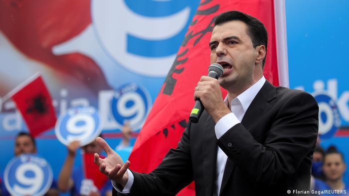 Albanien Wahlkampf Opposition Demokratische Partei Lulzim Basha
