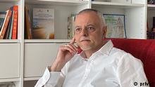 Toni Popovski- Architekt und ehemaliger Umweltminister Nordmazedoniens. Brüssel 21.04.2021 Rechte: Toni Popovski