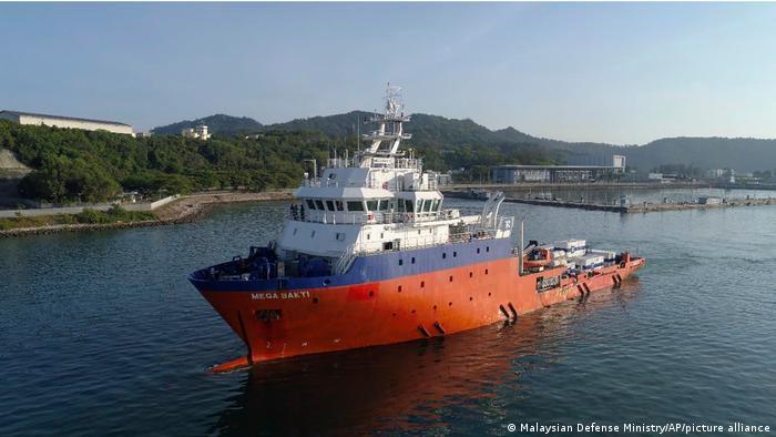 Malaysia l U-Boot-Rettungsschiff MV Mega Bakti
