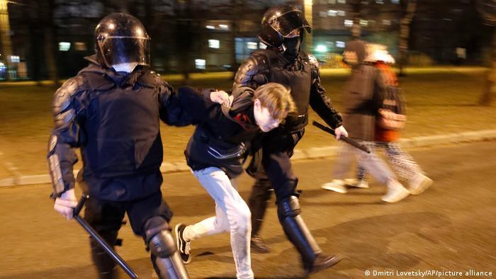 Russland St. Petersburg | Proteste gegen Nawalny-Inhaftierung
