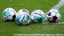 Fußball Bundesliga Fußbälle der Marke Derbystar