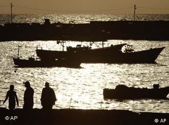 Der Hafen von Gaza, Foto: ap