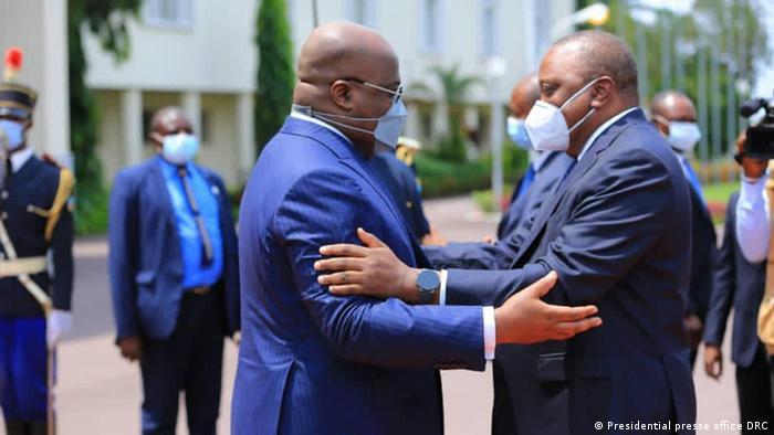 Staatsbesuch von Präsident Uhuru Kenyatta in der Demokratischen Republik Kongo