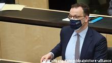 Deutschland Bundesrat Infektionsschutzgesetz Jens Spahn