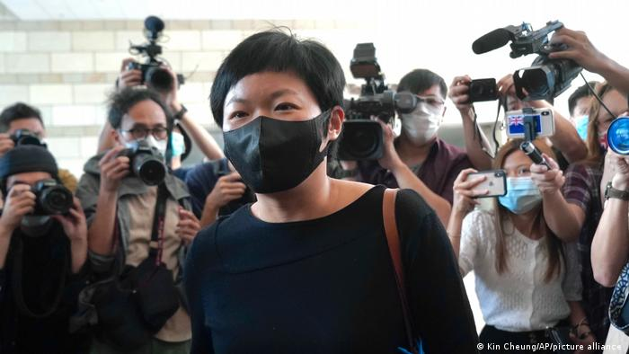 HongKong Justiz l Journalistin Choy Yuk-ling verurteilt