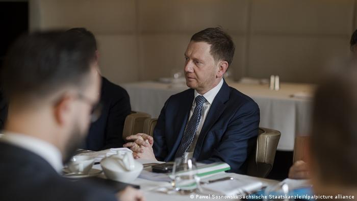 Michael Kretschmer in Moskow