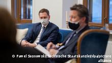 Russland Besuch Michael Kretschmer in Moskau