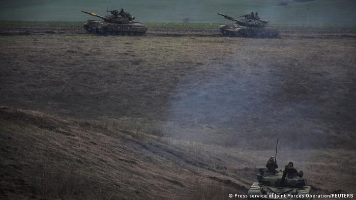 Tancuri ale armatei ucrainene
