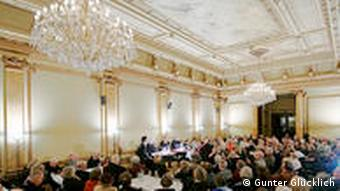 A reading at the Literaturhaus Hamburg