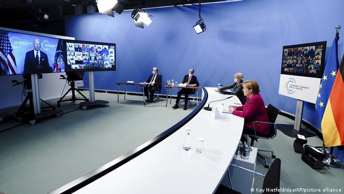 Klimakonferenz | Kanzlerin Merkel