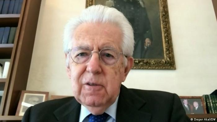 Italian ex-president Mario Monti speaks about the WHO report for the commission