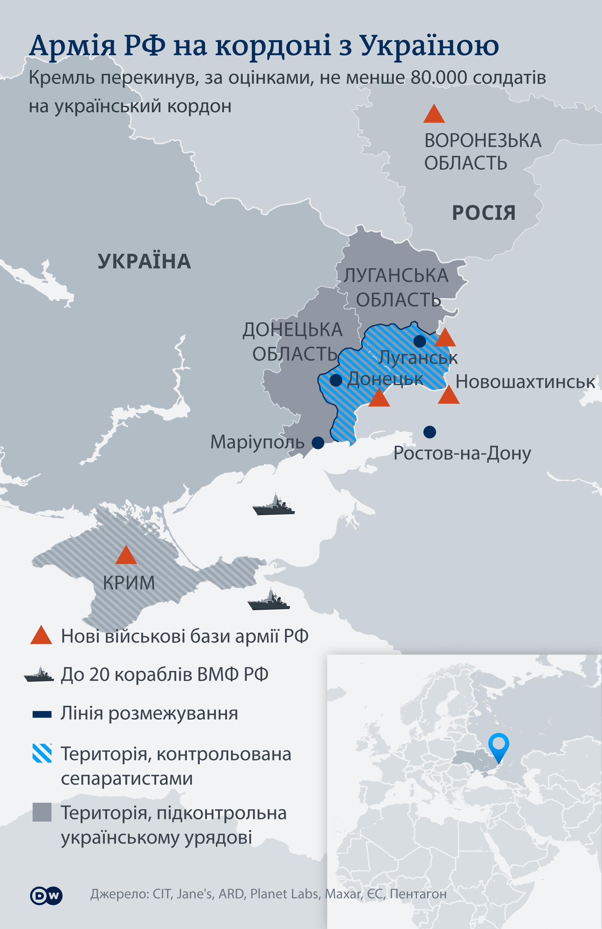 Karte Infografik Konflikt Ostukraine Russland UK