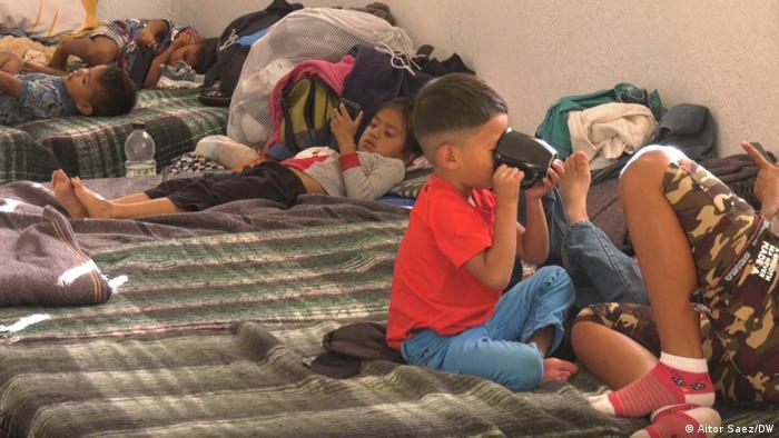 Bildergalerie Flüchtlinge an der mexikanisch-US-amerikanischen Grenze