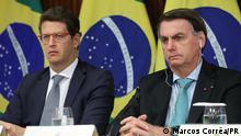 Brasilien | Präsident Jair Bolsonaro und Umweltminister Ricardo Salles