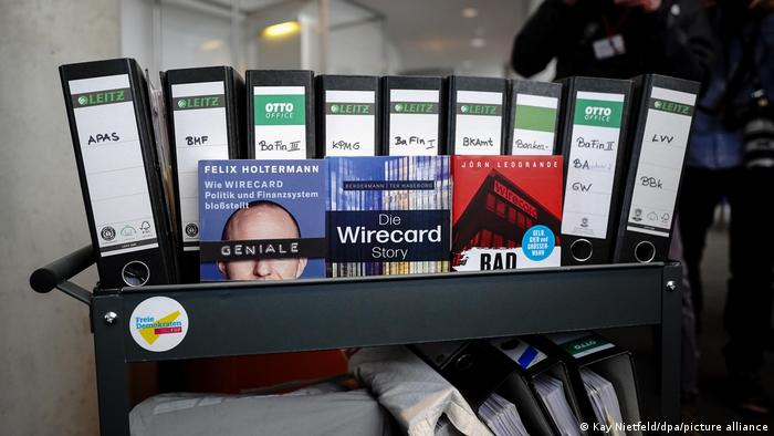 Files used by the parliamentary committee to investigate the Wirecard scandal