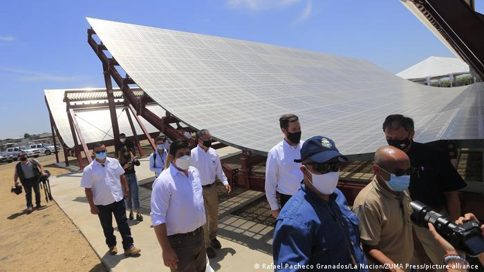 Costa Rica Radarstation für Satelliten